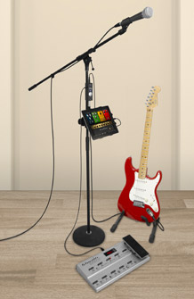 iRig PRO Guitar and MIDI Pedalboard