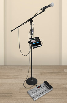 iRig PRO Microphone and MIDI Pedalboard