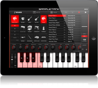 SampleTank for iPad
