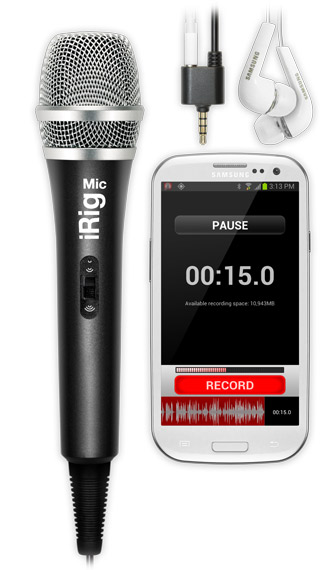 iRig Recorder with iRig MIC
