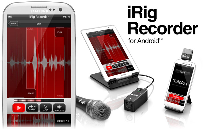 Android iRig Recording App | The Canadian Guitar Forum
