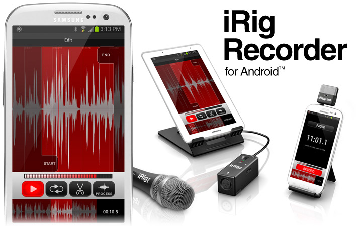 iRig Recorder for Android devices
