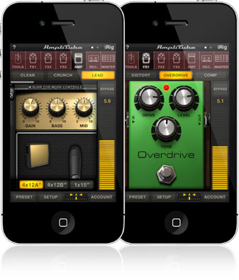 Amplitube for iPhone/iPod touch