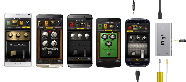 iRig UA and AmpliTube UA