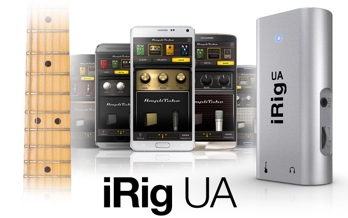 iRig UA - The first universal guitar effects processor and interface for all Android devices