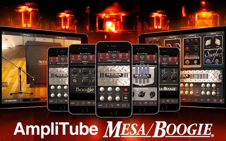 AmpliTube Mesa/Boogie for iPhone and iPad