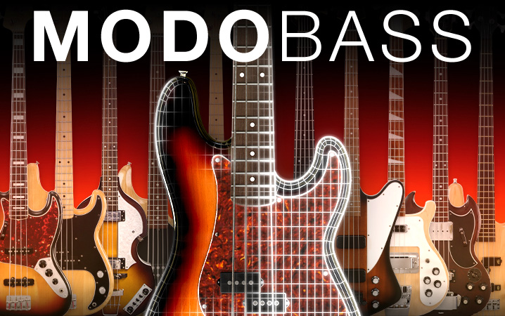 MODO BASS - The first physically modeled electric bass