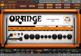 AmpliTube Orange Plug-in