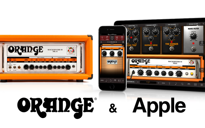 AmpliTube Orange for iPhone and iPad