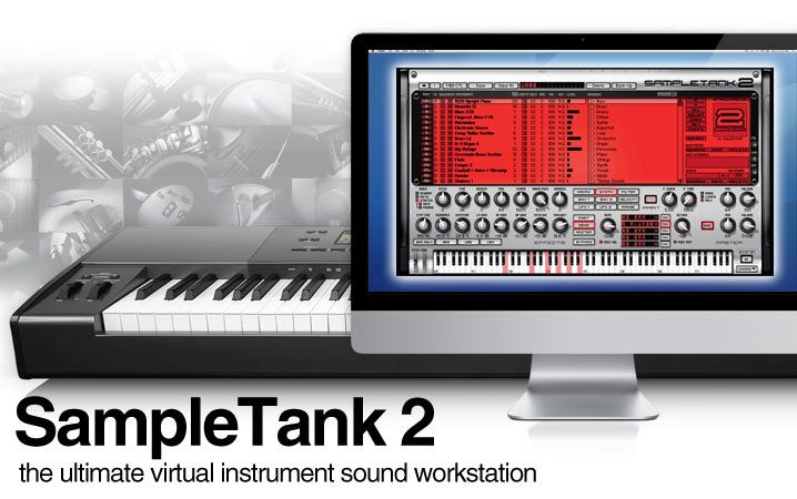 SampleTank 2 XL - The Ultimate Virtual Instrument Sound Workstation