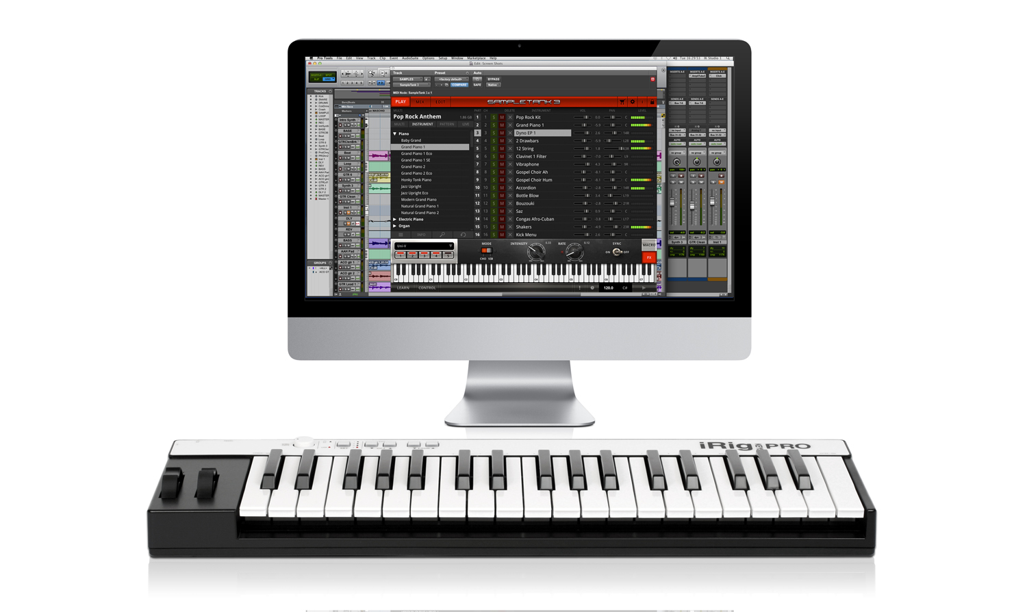 SampleTank 3  sound and groove workstation virtual instrument