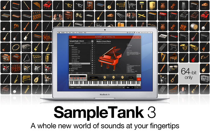 SampleTank 3 - the history-making industry standard music and sound workstation