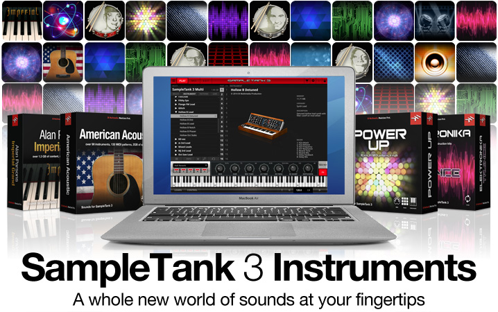 SampleTank 3 Instruments - Customize SampleTank 3 with new Virtual Instruments and Sound Libraries