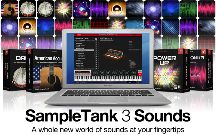 SampleTank 3 Sounds - Customize SampleTank 3 with new sound libraries