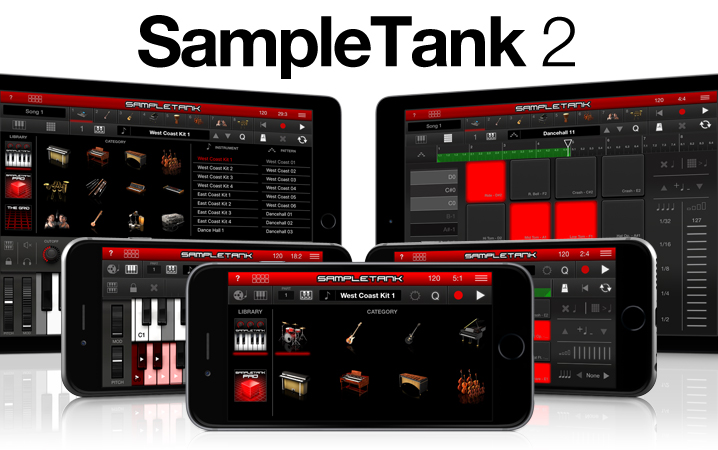 SampleTank for iPhone and iPad