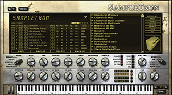 SampleTron interface