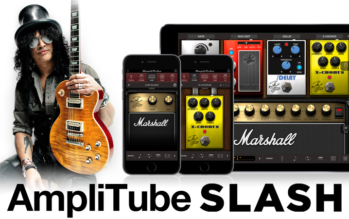 AmpliTube Slash for iPhone and iPad