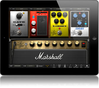 Amplitube Slash iPad