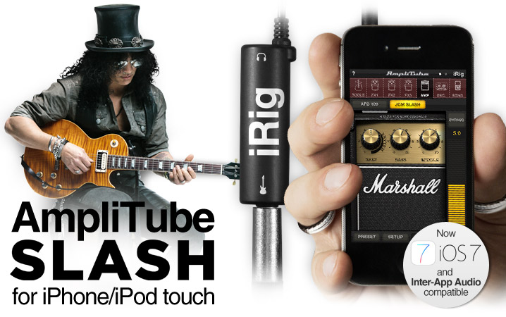 AmpliTube Slash for iPhone/iPod touch