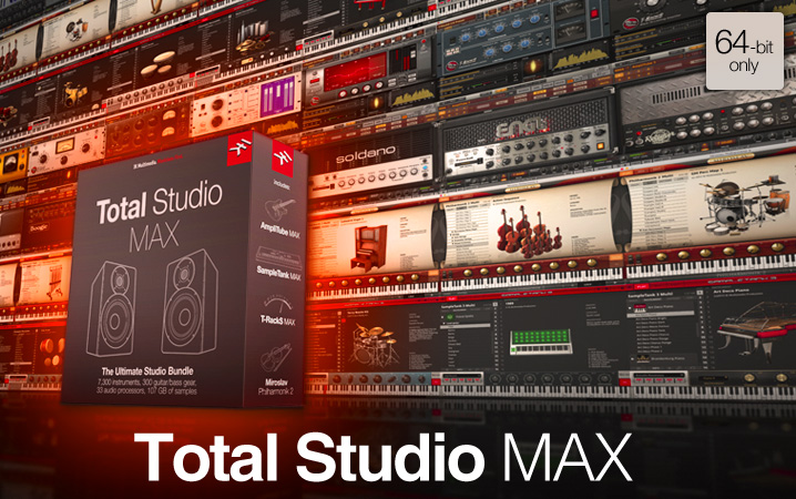 Broadjam and IK Multimedia Total Studio Max Giveaway