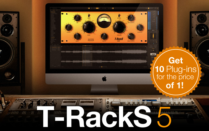 T-RackS 5 - The most powerful mix and master modular system — remastered