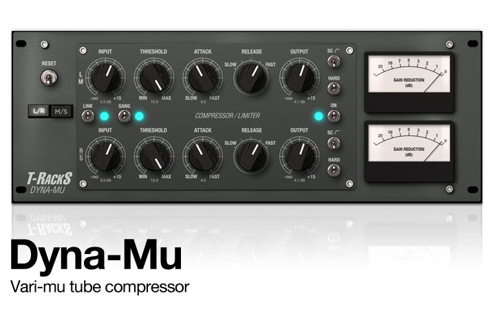 T-RackS Dyna-Mu - Vari-mu Tube Compressor