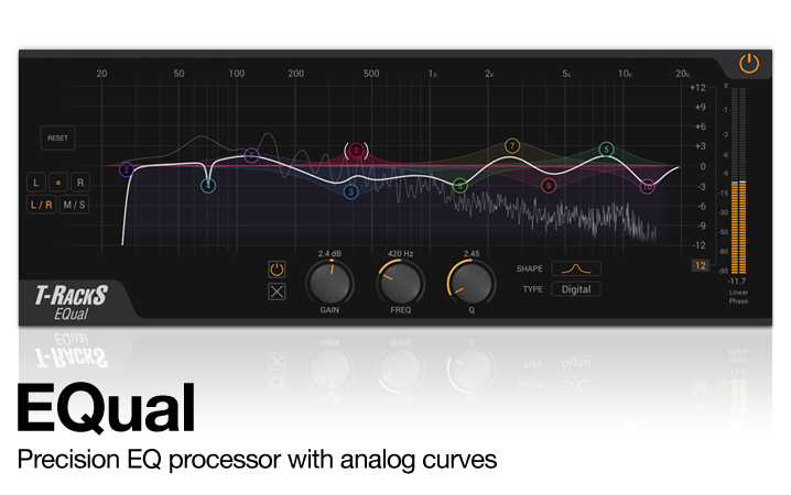 T-RackS ONE - 'All-in-one' Mastering Processor