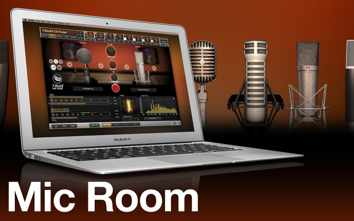 T-RackS Mic Room - Microphone Modeling Module for T-RackS