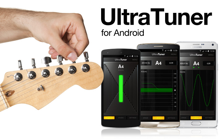 UltraTuner for Android - The most precise tuner ever,  now on Android