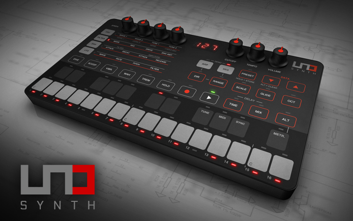 UNO Synth - True analog synthesizer. Easily programmable. Ultra-portable.