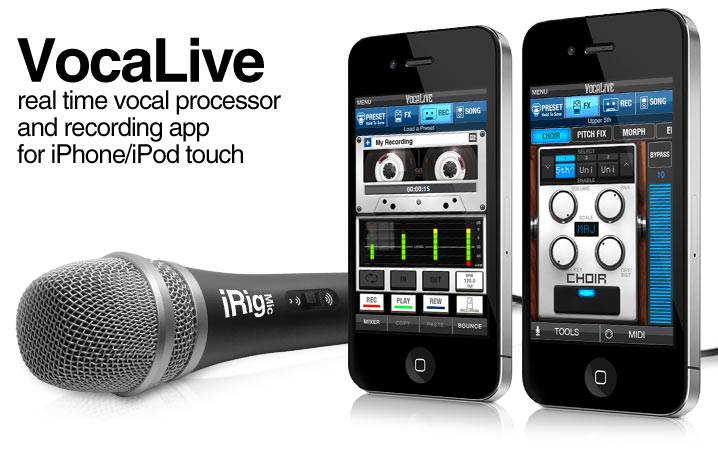 VocaLive for iPhone/iPod touch