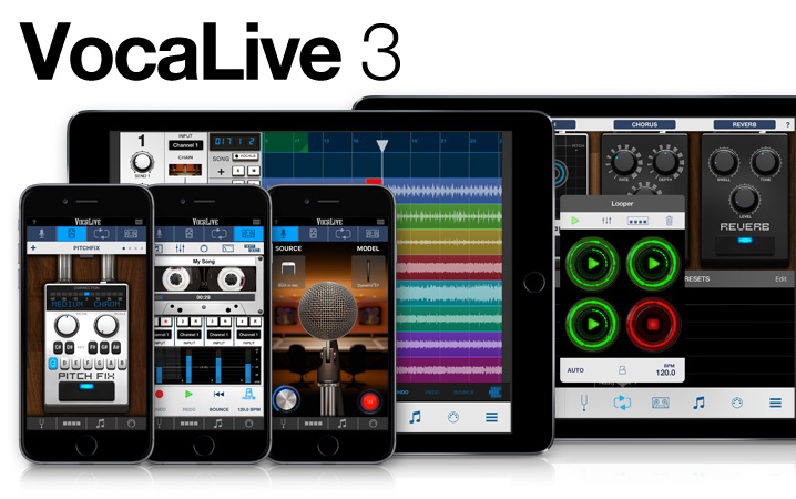VocaLive for iPhone and iPad