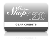 Gear Credit Pack - 120 Credits