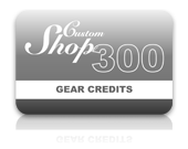 Gear Credit Pack - 300 Credits