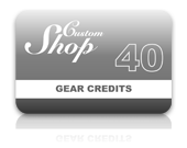 Gear Credit Pack - 40 Credits
