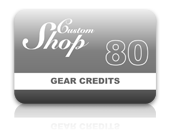 Gear Credit Pack - 80 Credits