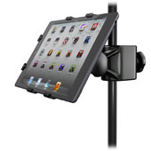 Universal microphone stand adapter for iPad mini