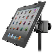 Universal microphone stand adapter for iPadCompatible with 2nd, 3rd and 4th generation iPads