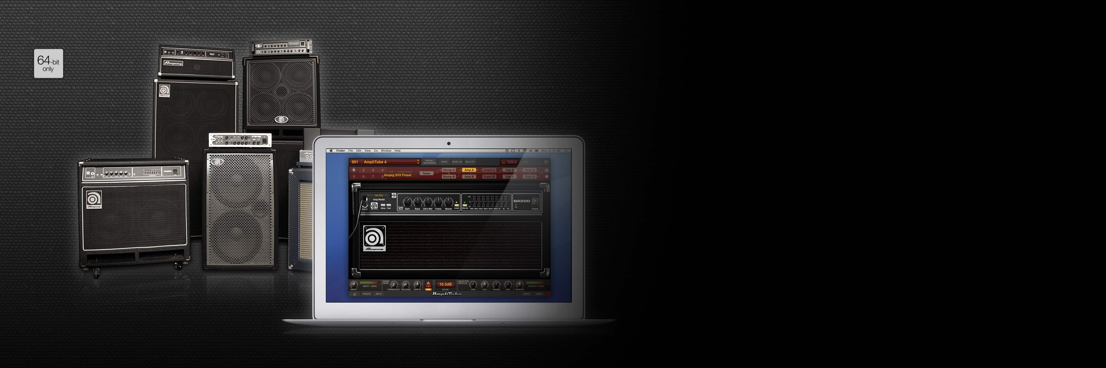 Ik Multimedia Ampeg Svx Circuit Shop You Can Use The Main Window Of To Design Legendary Bass Tones In A Plug
