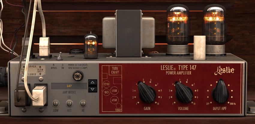 Leslie 147 Amp