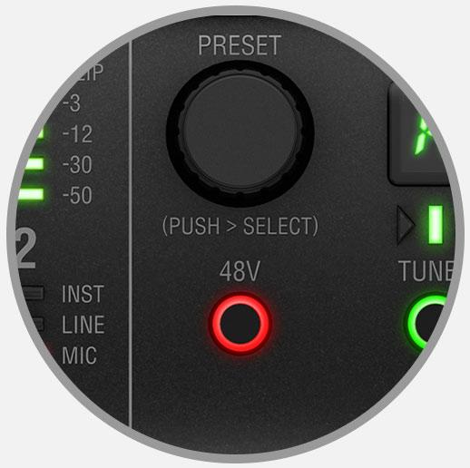 preset knob