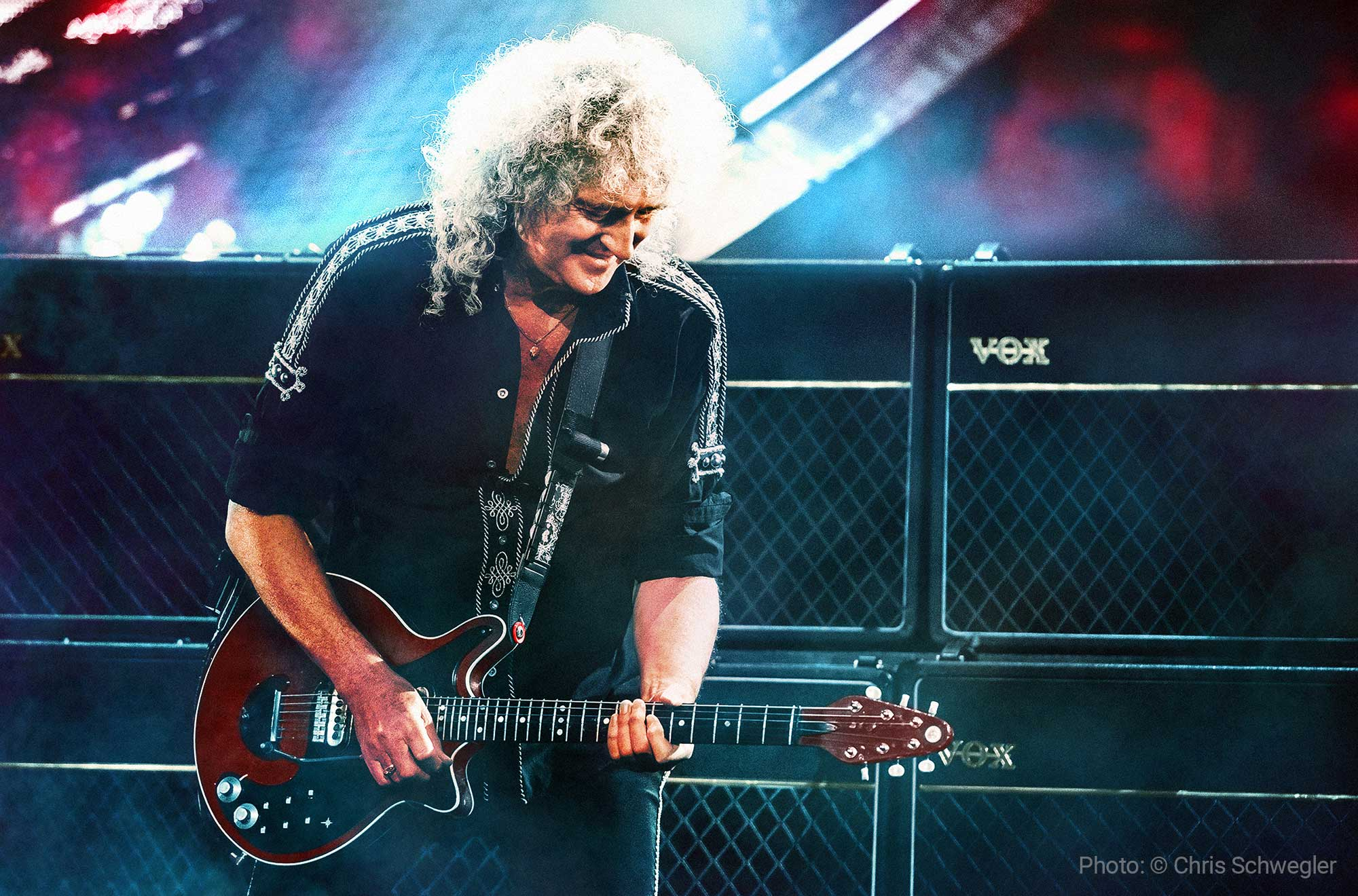 Brian May and his amplifiers