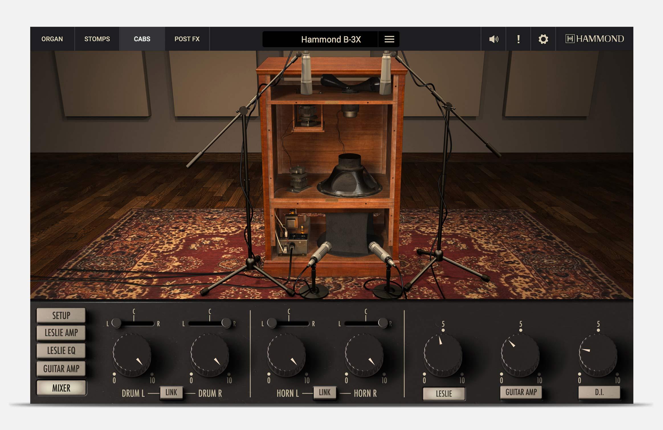 hammondb3x_cabs_guitaramps_mixer