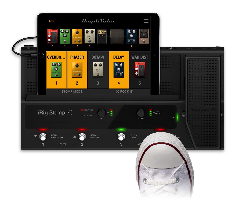 Ik Multimedia Amplitube For Iphone Ipad 84 Tempo Fuse Box Control Yourself
