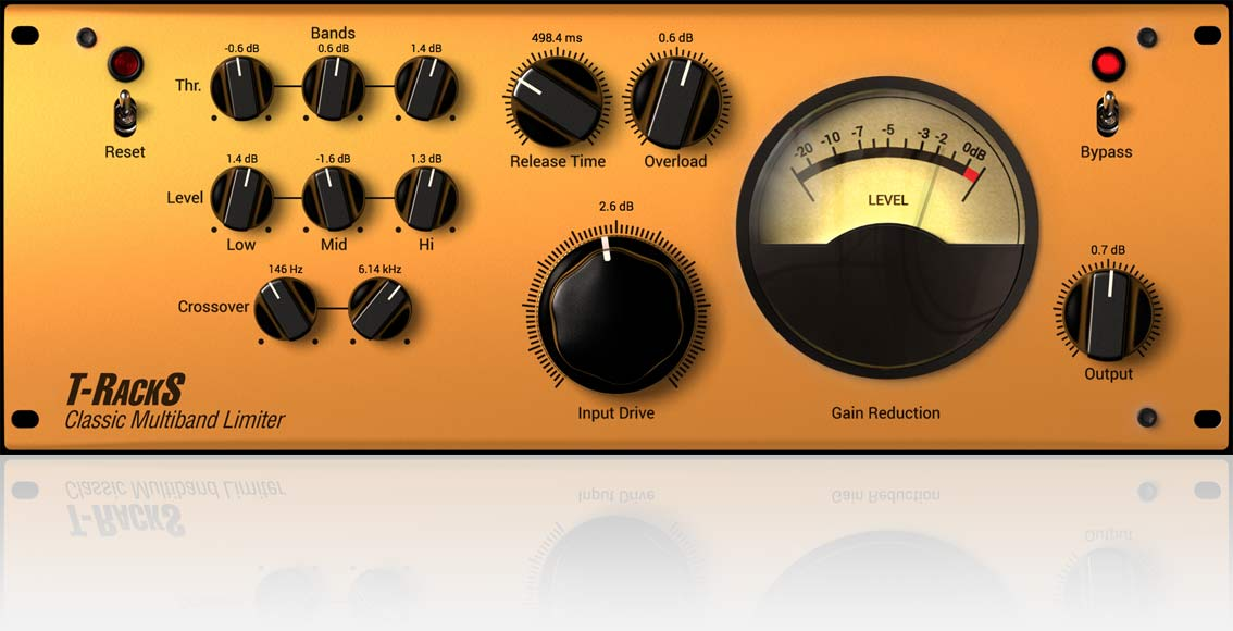 Classic T-RackS Multi-band Limiter