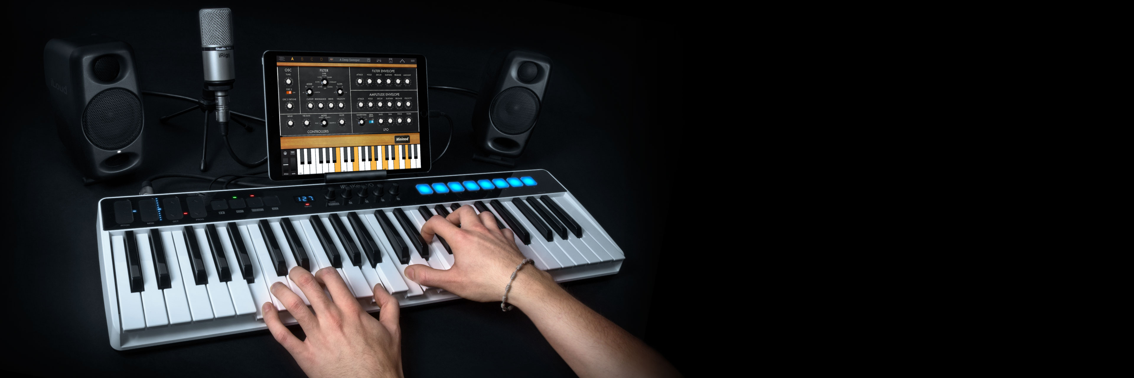 Ik Multimedia Irig Keys I O Raspberry Pi Singapore Low Level Control Startup Guide The All In One Music Production Station That Goes Anywhere You Want
