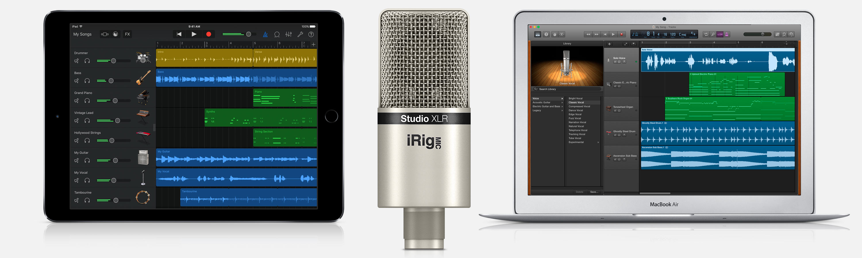 iRig Mic Studio XLR iPad Mac