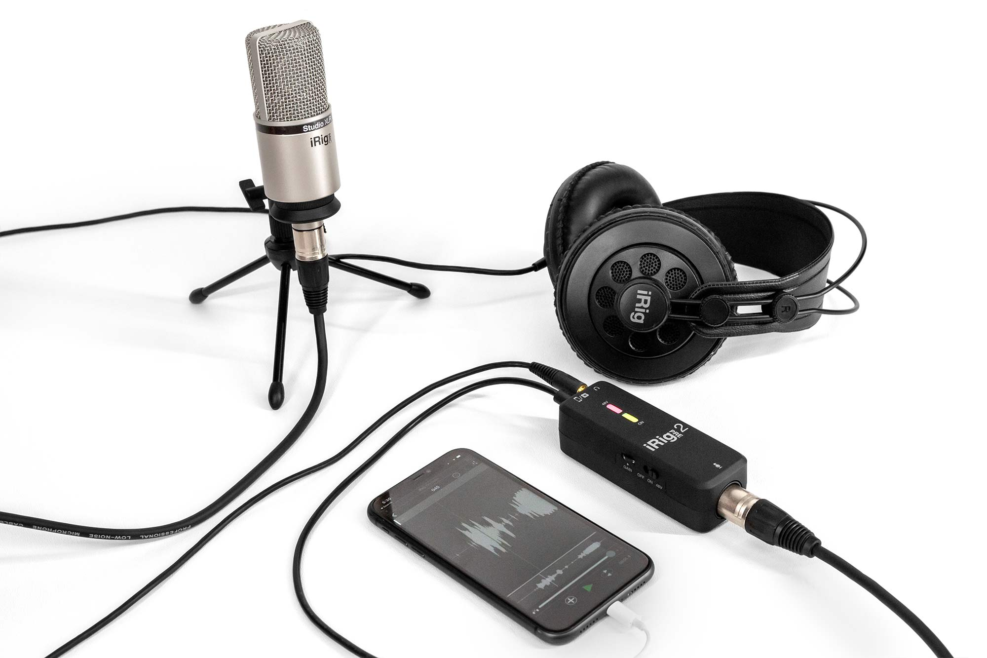 iRig Pre 2 with iPhone