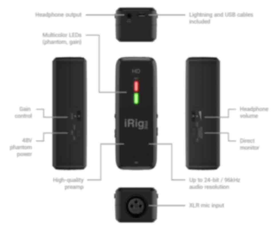 IK Multimedia - iRig Pre HD