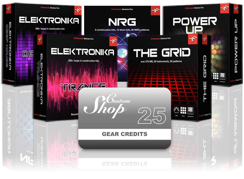 The Grid plus 5 instrument collections